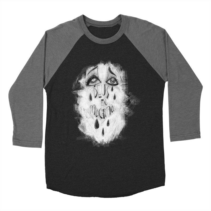 Deus Ex Machina (black) Women's Longsleeve T-Shirt by ilustramar's Artist Shop
