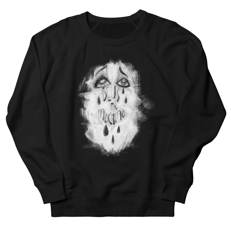 Deus Ex Machina (black) Men's Sweatshirt by ilustramar's Artist Shop