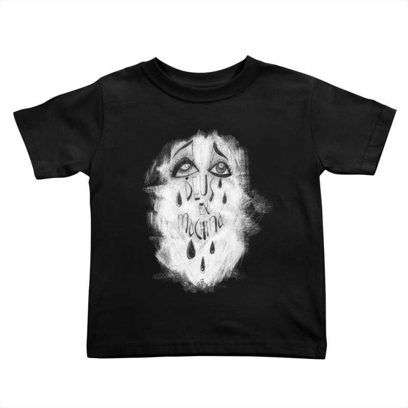 Deus Ex Machina (black) Kids Toddler T-Shirt by ilustramar's Artist Shop