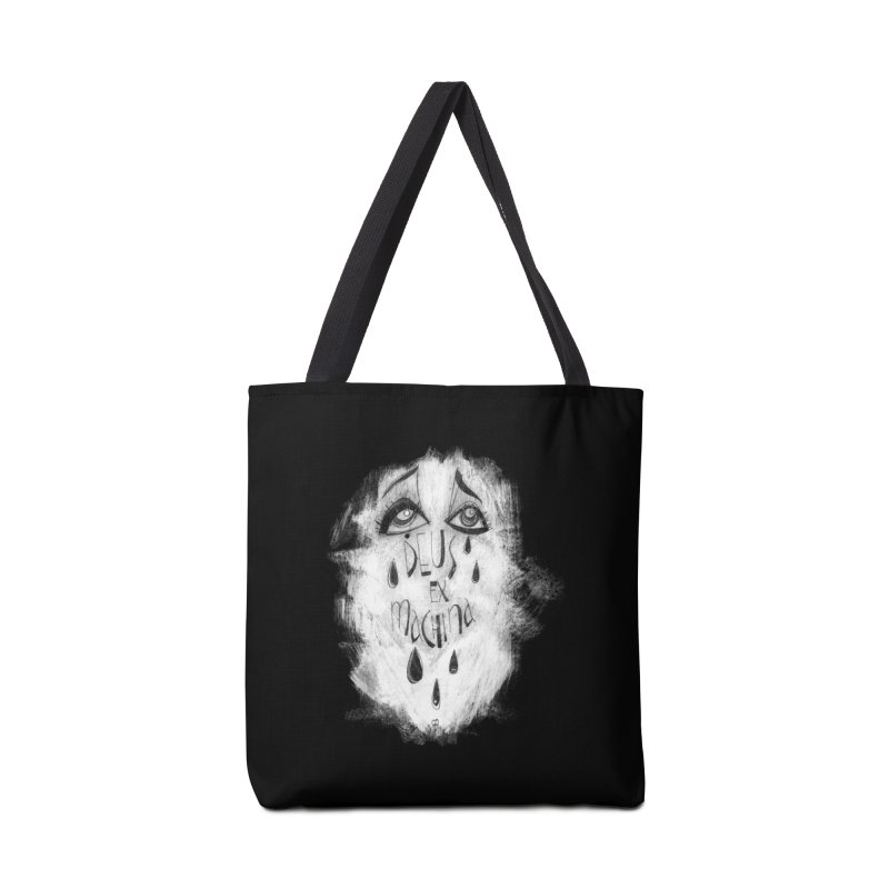 Deus Ex Machina (black) Accessories Tote Bag Bag by ilustramar's Artist Shop