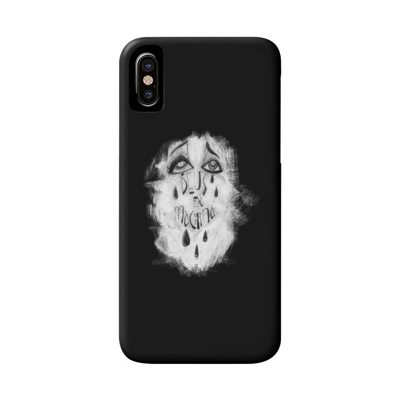 Deus Ex Machina (black) Accessories Phone Case by ilustramar's Artist Shop