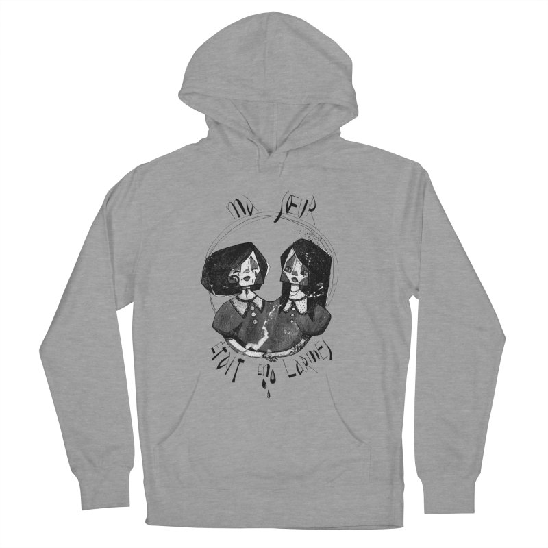 En larmes Women's French Terry Pullover Hoody by ilustramar's Artist Shop