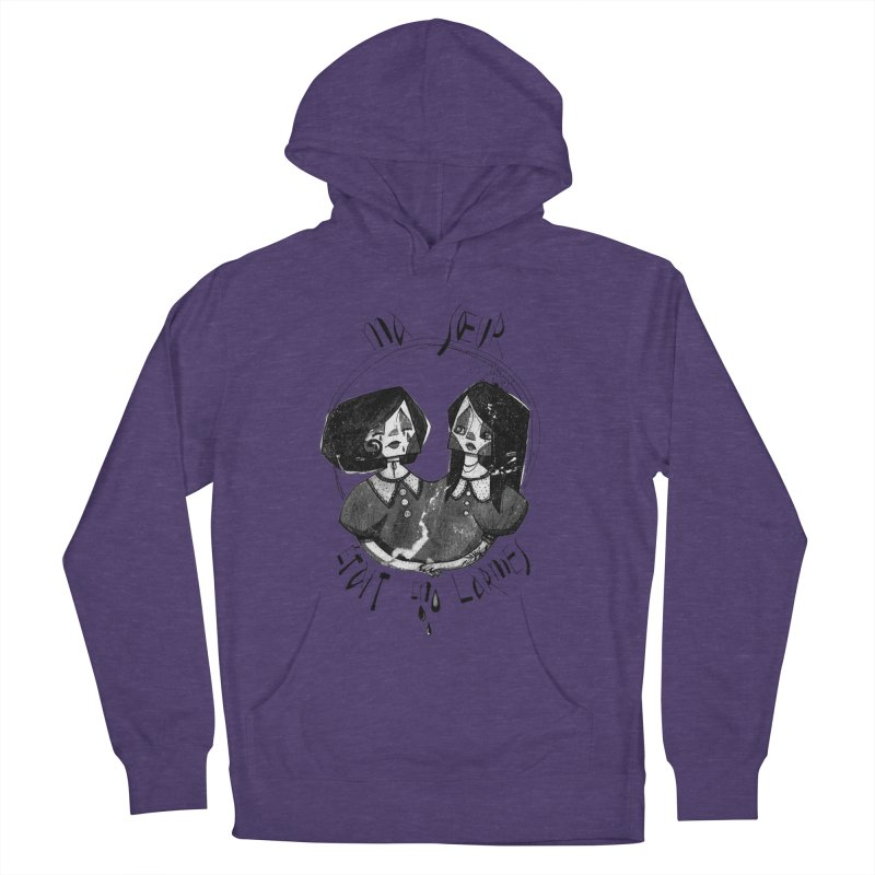 En larmes Men's French Terry Pullover Hoody by ilustramar's Artist Shop
