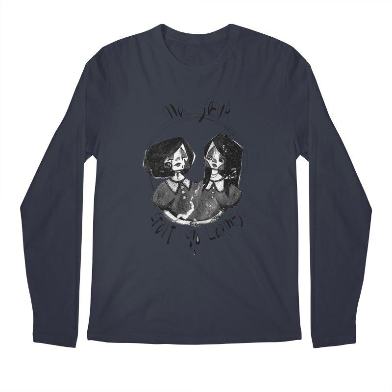 En larmes Men's Regular Longsleeve T-Shirt by ilustramar's Artist Shop