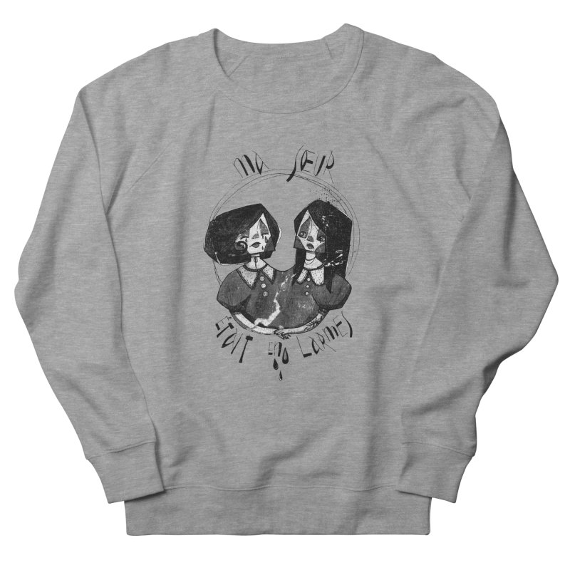 En larmes Women's French Terry Sweatshirt by ilustramar's Artist Shop