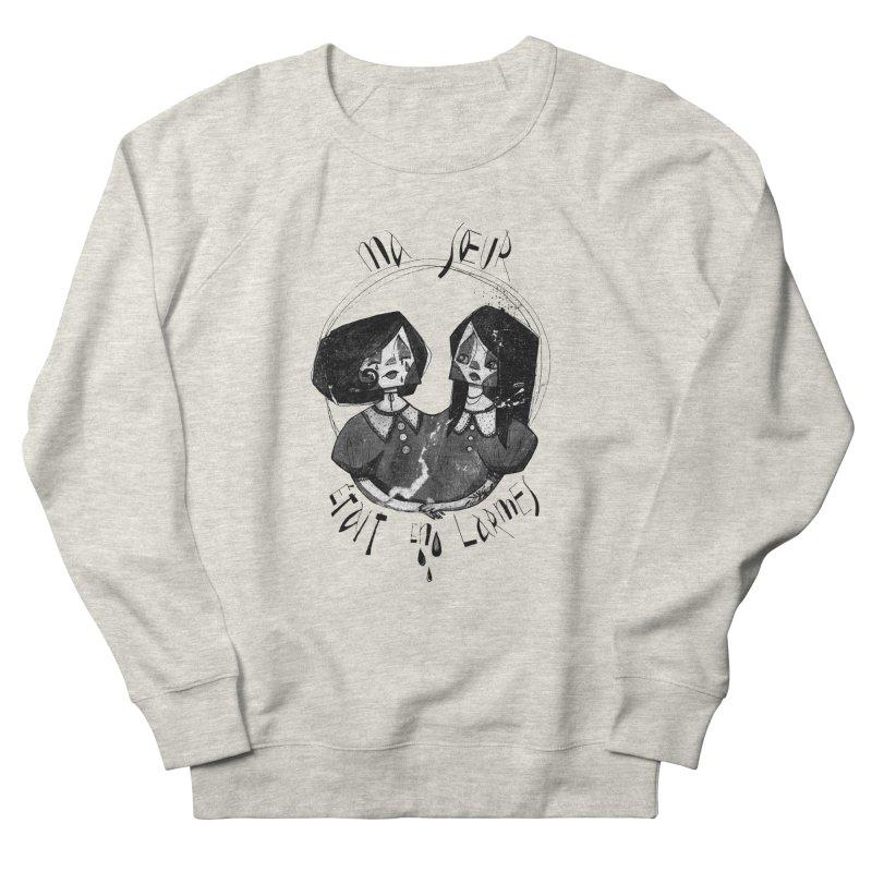 En larmes Men's French Terry Sweatshirt by ilustramar's Artist Shop