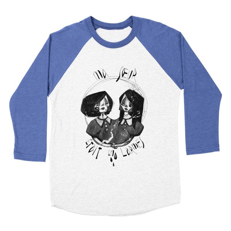 En larmes Men's Baseball Triblend Longsleeve T-Shirt by ilustramar's Artist Shop
