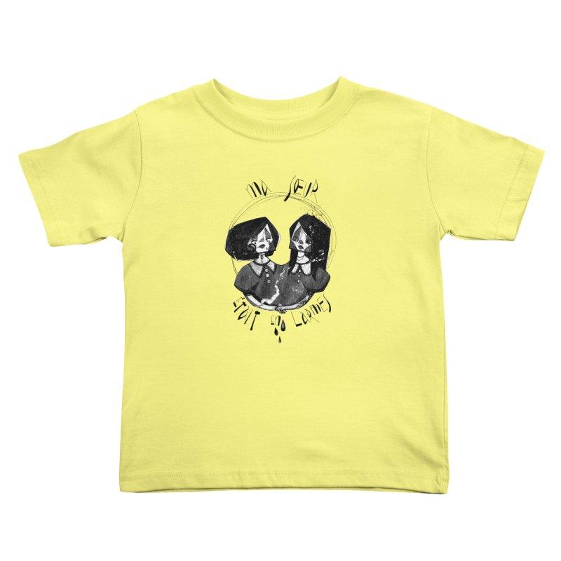 En larmes Kids Toddler T-Shirt by ilustramar's Artist Shop