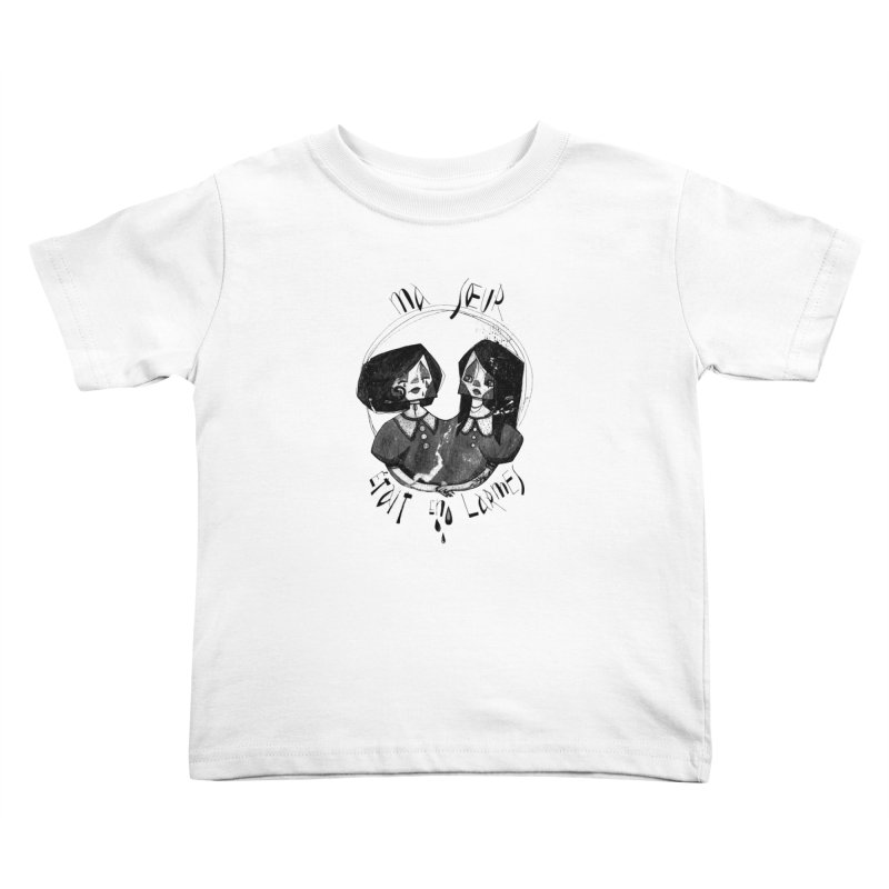 En larmes Kids Toddler T-Shirt by ilustramar's Artist Shop