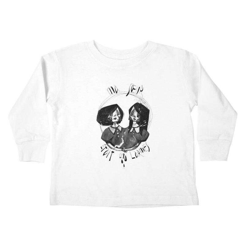 En larmes Kids Toddler Longsleeve T-Shirt by ilustramar's Artist Shop