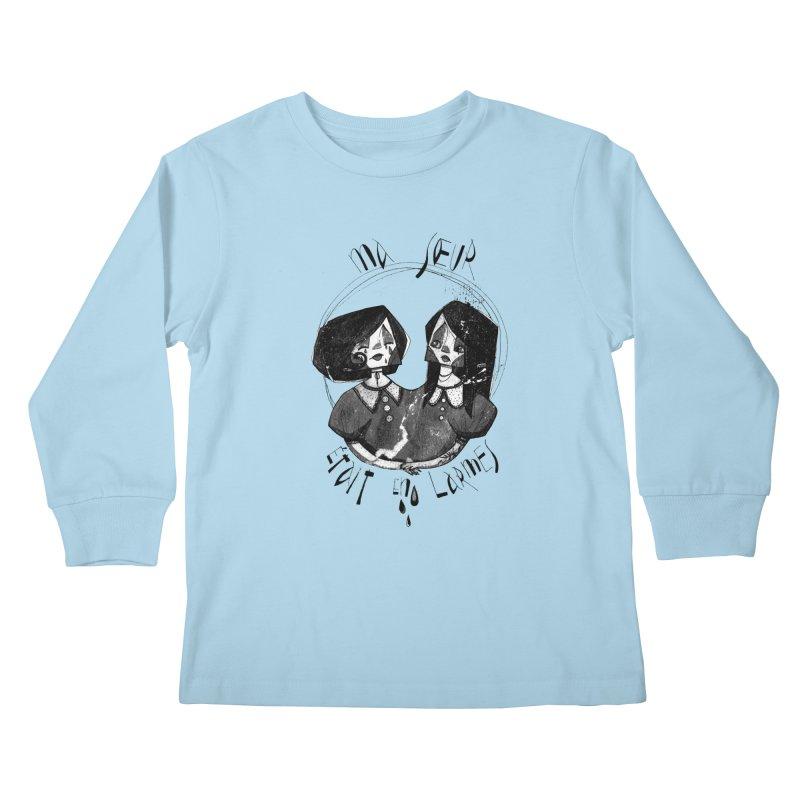 En larmes Kids Longsleeve T-Shirt by ilustramar's Artist Shop