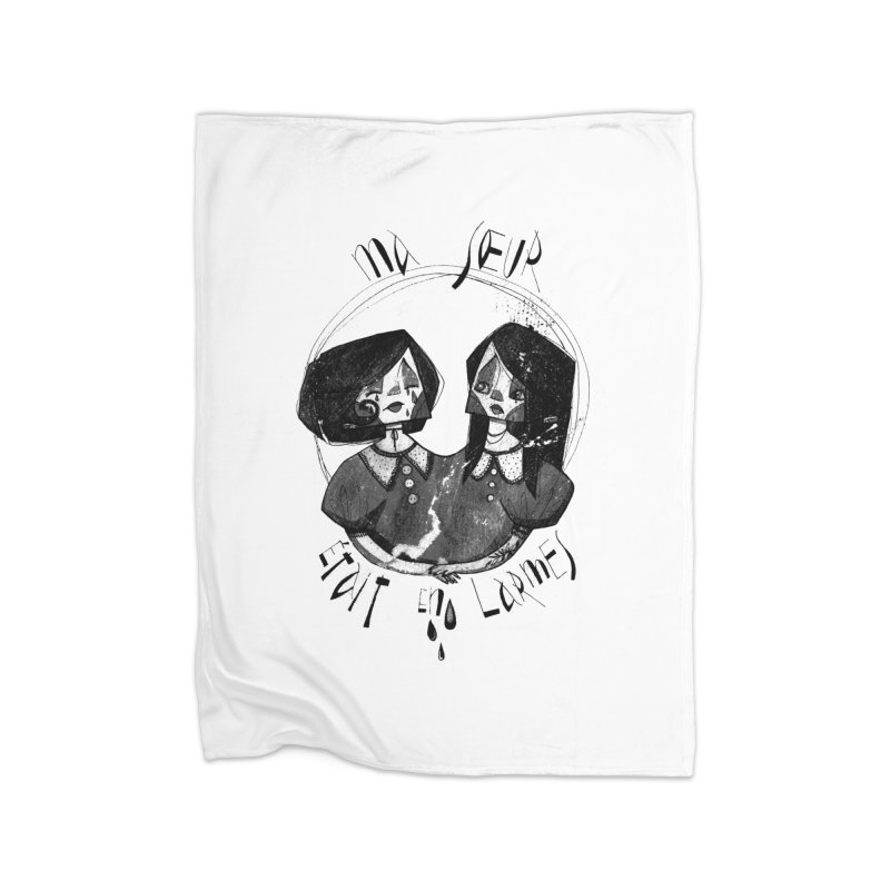 En larmes Home Blanket by ilustramar's Artist Shop