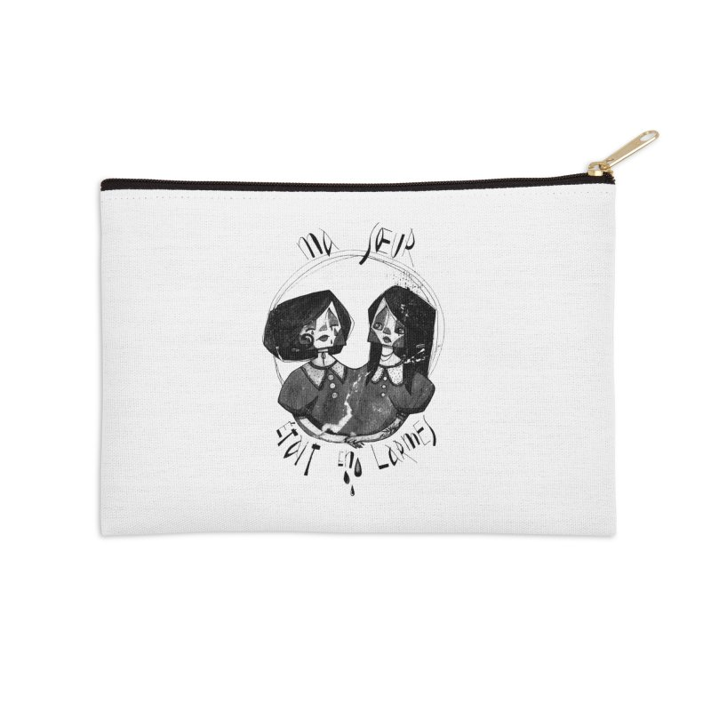 En larmes Accessories Zip Pouch by ilustramar's Artist Shop