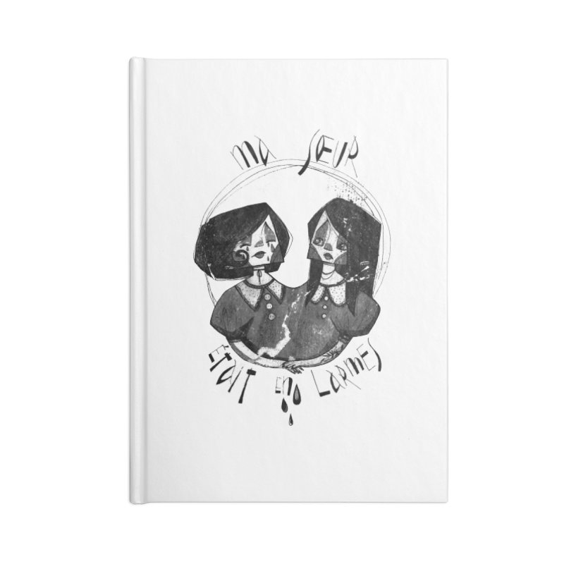 En larmes Accessories Notebook by ilustramar's Artist Shop