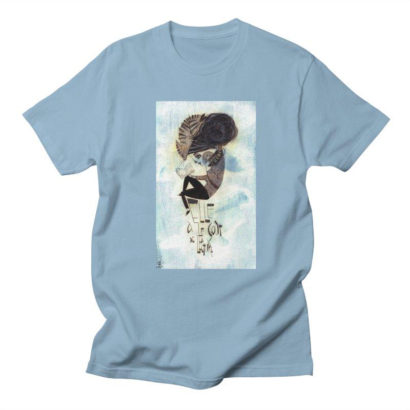 Lecture Men's Regular T-Shirt by ilustramar's Artist Shop
