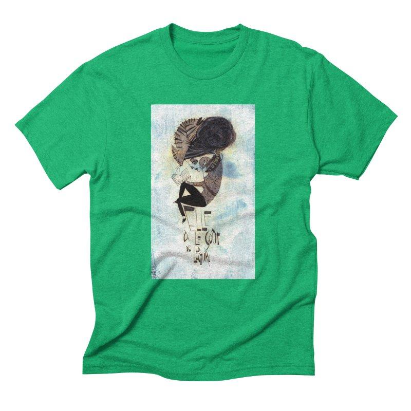 Lecture Men's Triblend T-Shirt by ilustramar's Artist Shop