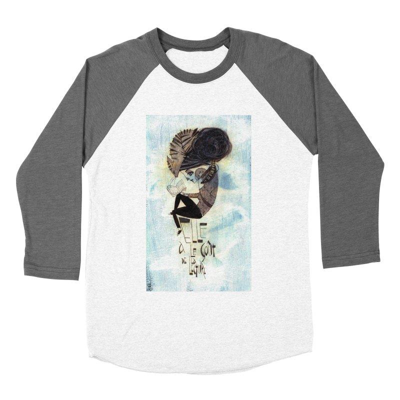 Lecture Women's Baseball Triblend T-Shirt by ilustramar's Artist Shop