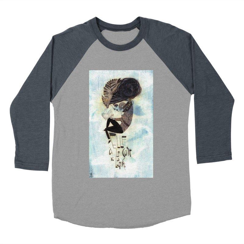 Lecture Women's Baseball Triblend Longsleeve T-Shirt by ilustramar's Artist Shop