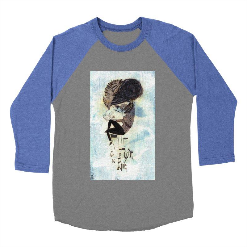 Lecture Men's Baseball Triblend Longsleeve T-Shirt by ilustramar's Artist Shop