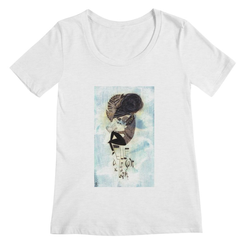 Lecture Women's Regular Scoop Neck by ilustramar's Artist Shop