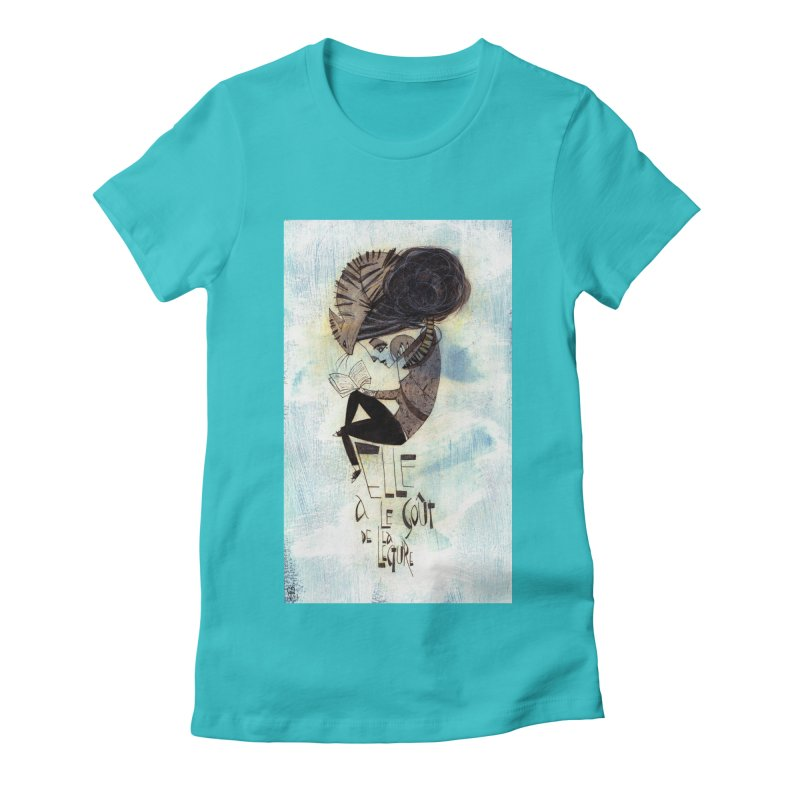 Lecture Women's Fitted T-Shirt by ilustramar's Artist Shop