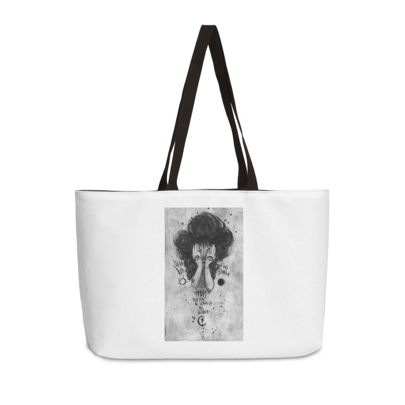 Demain Accessories Weekender Bag Bag by ilustramar's Artist Shop