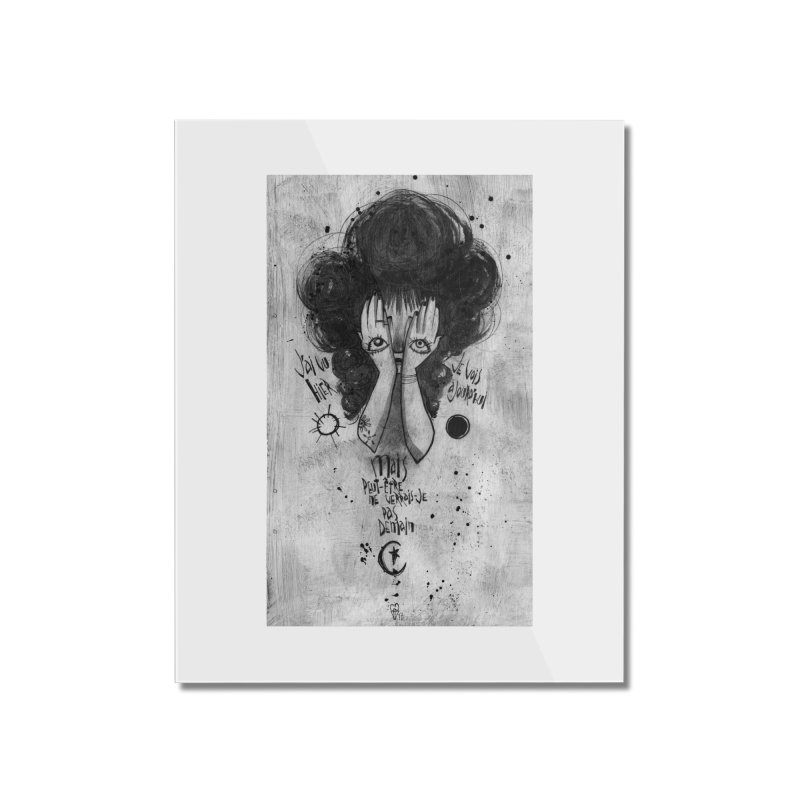 Demain Home Mounted Acrylic Print by ilustramar's Artist Shop