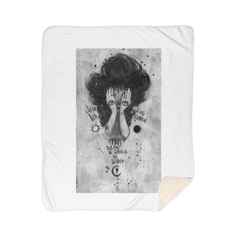 Demain Home Sherpa Blanket Blanket by ilustramar's Artist Shop