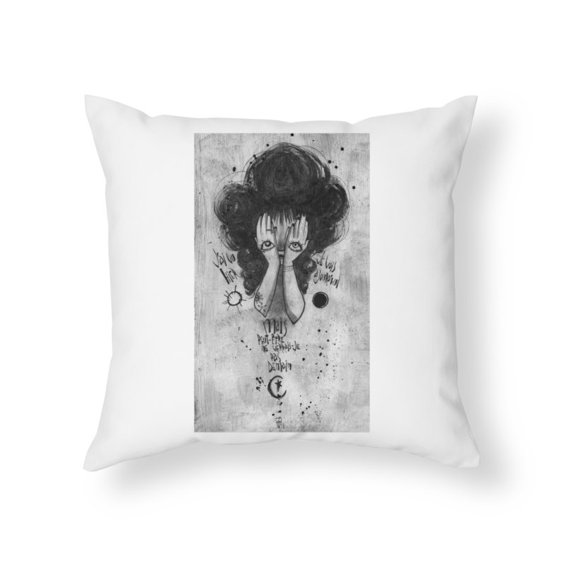 Demain Home Throw Pillow by ilustramar's Artist Shop