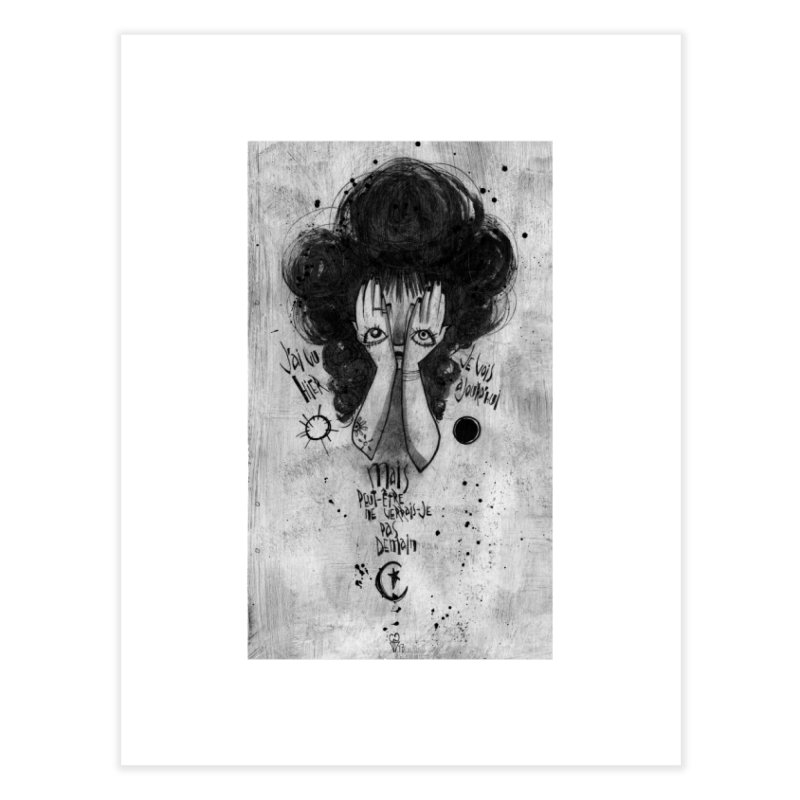 Demain Home Fine Art Print by ilustramar's Artist Shop