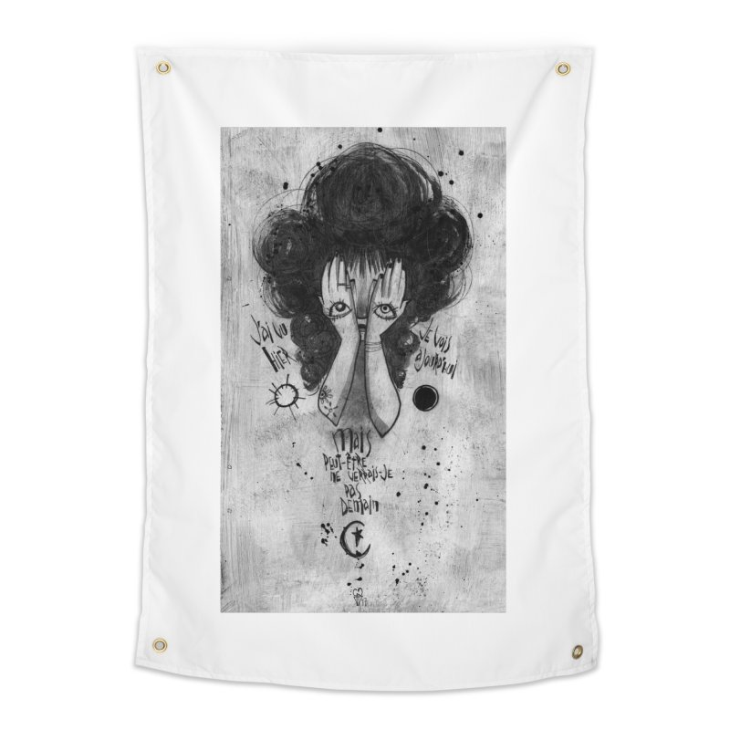 Demain Home Tapestry by ilustramar's Artist Shop