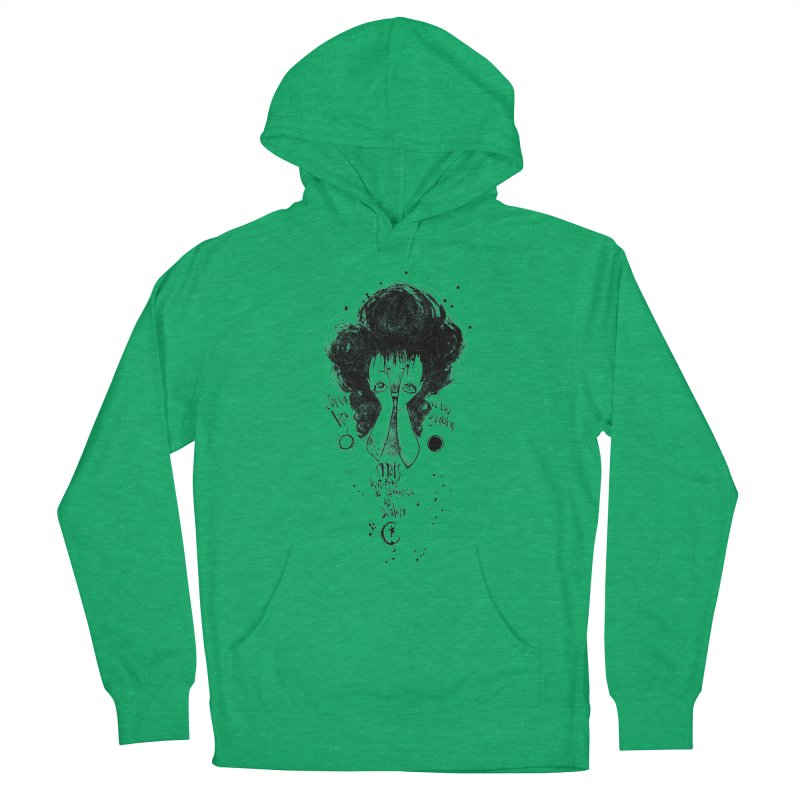 Demain Women's French Terry Pullover Hoody by ilustramar's Artist Shop