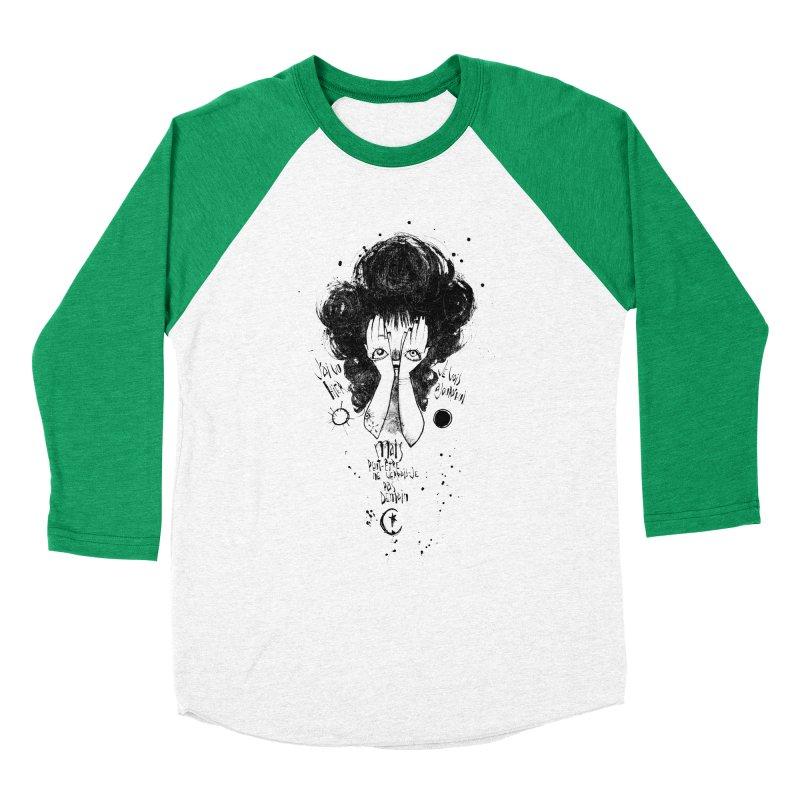 Demain Women's Baseball Triblend T-Shirt by ilustramar's Artist Shop