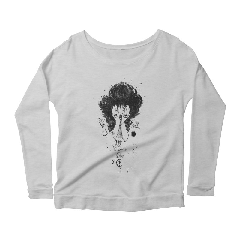 Demain Women's Scoop Neck Longsleeve T-Shirt by ilustramar's Artist Shop