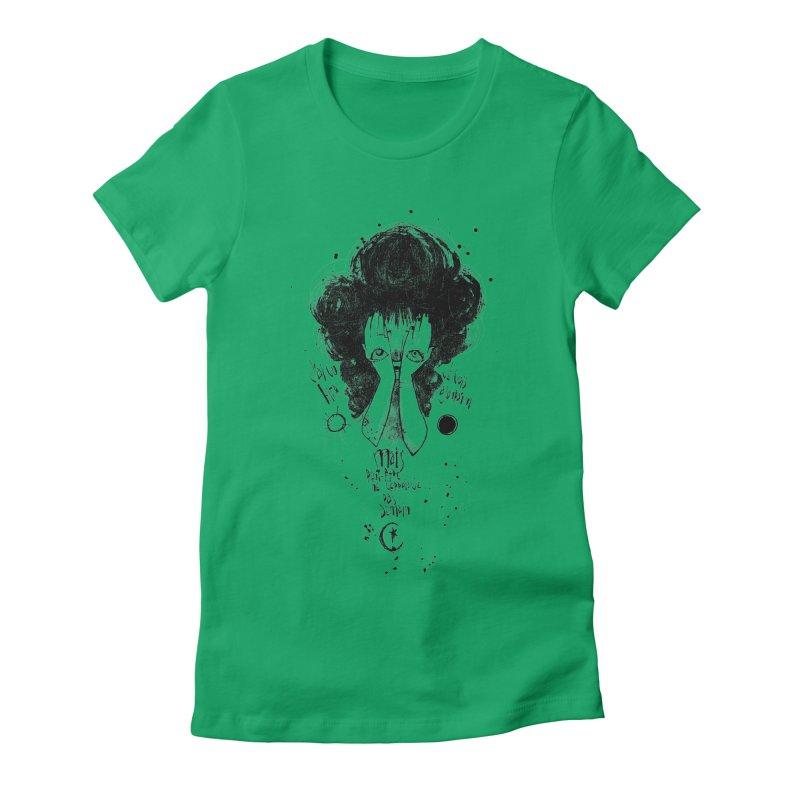 Demain Women's Fitted T-Shirt by ilustramar's Artist Shop