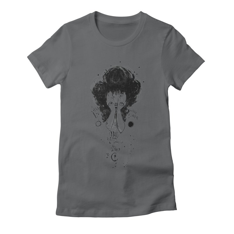 Demain Women's Fitted T-Shirt by ilustramar's Artist Shop