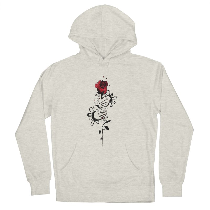 Wild Rose Men's Pullover Hoody by ilustramar's Artist Shop