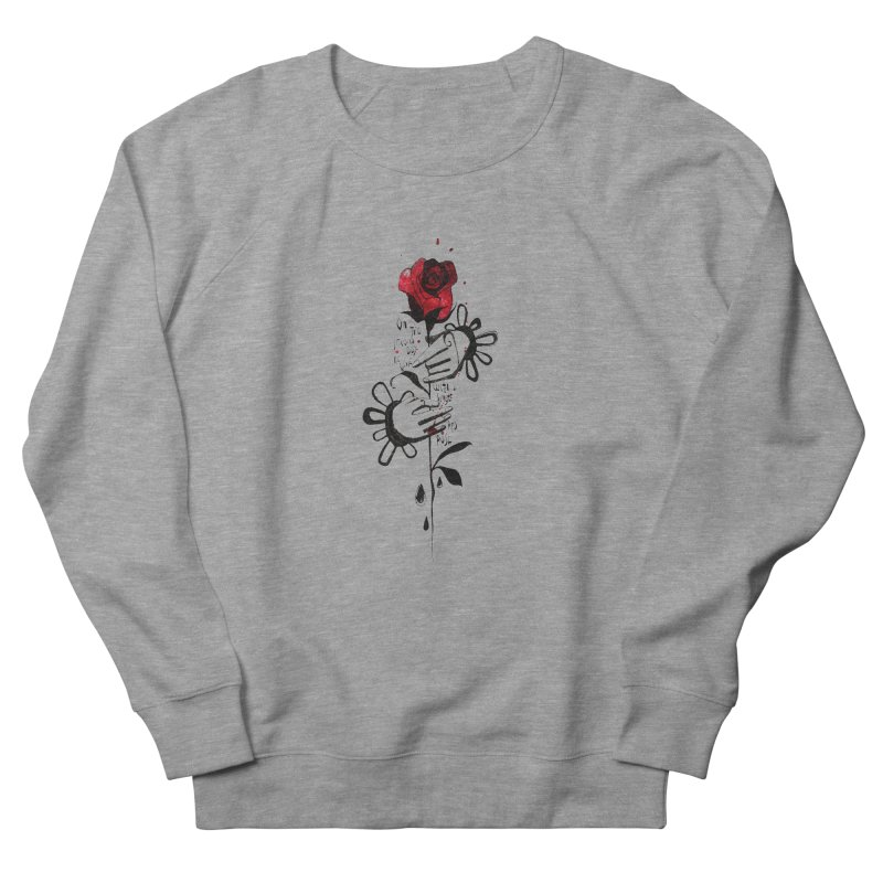 Wild Rose Women's French Terry Sweatshirt by ilustramar's Artist Shop