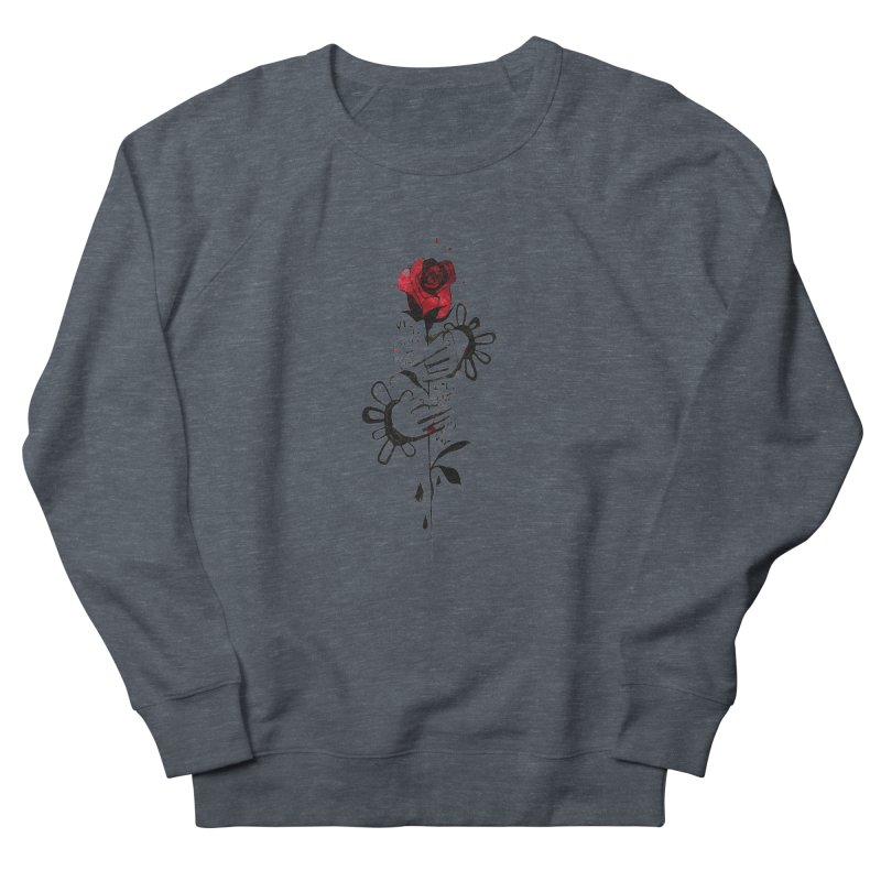 Wild Rose Men's Sweatshirt by ilustramar's Artist Shop