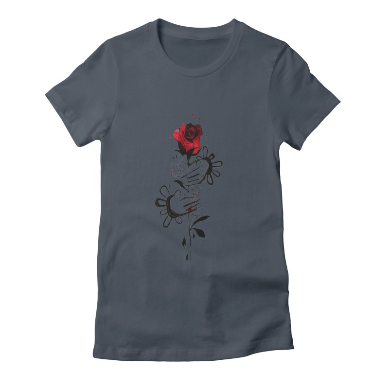 Wild Rose Women's T-Shirt by ilustramar's Artist Shop