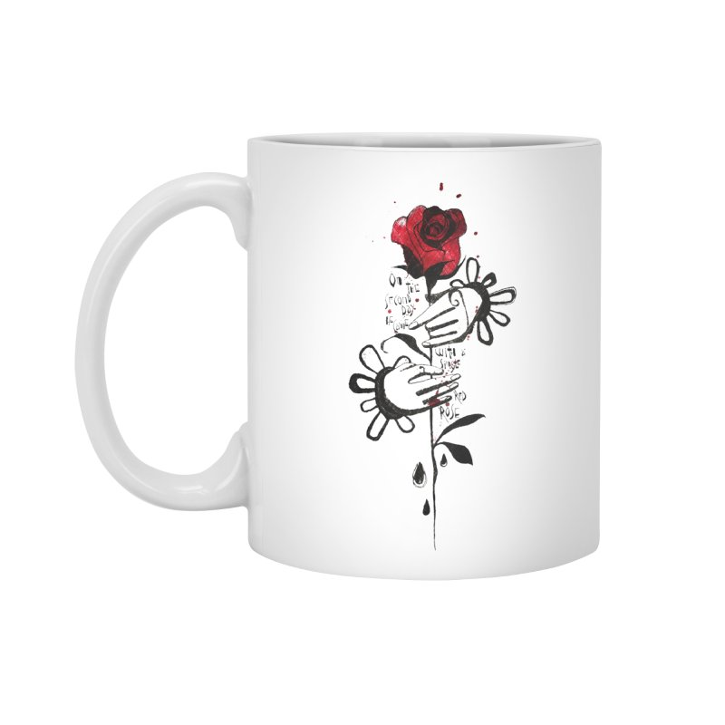 Wild Rose Accessories Standard Mug by ilustramar's Artist Shop