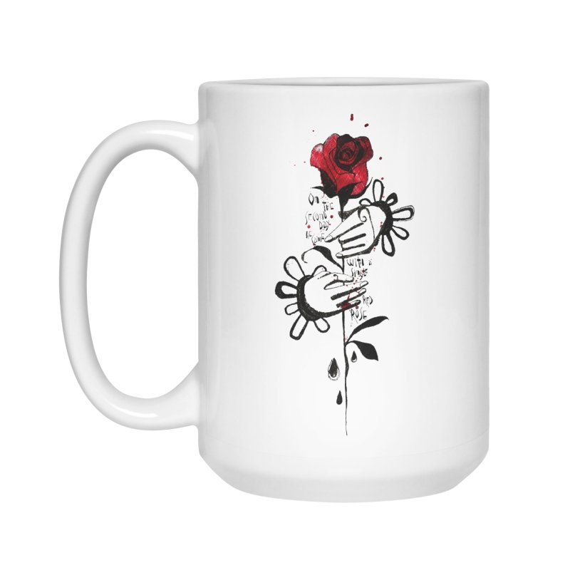 Wild Rose Accessories Mug by ilustramar's Artist Shop