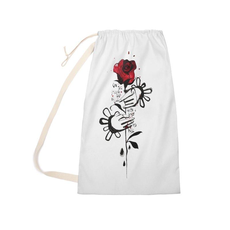 Wild Rose Accessories Bag by ilustramar's Artist Shop