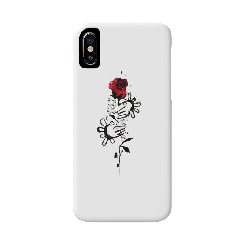 Wild Rose Accessories Phone Case by ilustramar's Artist Shop