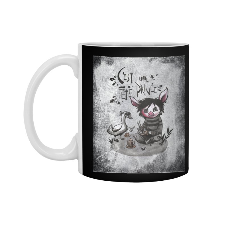Fête privée Accessories Mug by ilustramar's Artist Shop