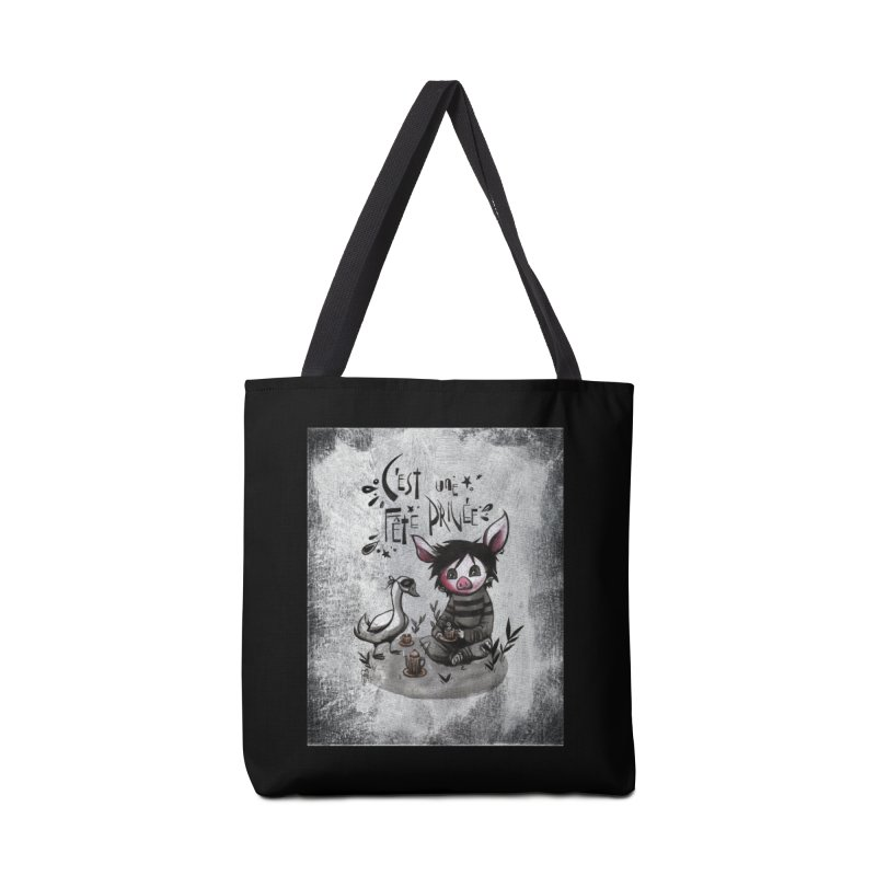 Fête privée Accessories Tote Bag Bag by ilustramar's Artist Shop