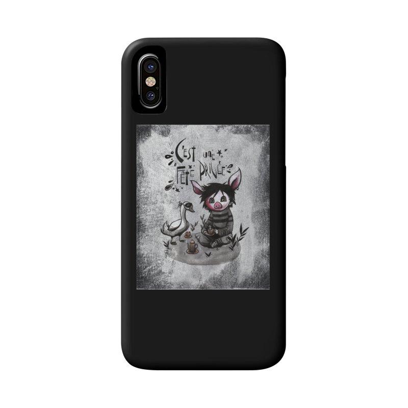 Fête privée Accessories Phone Case by ilustramar's Artist Shop