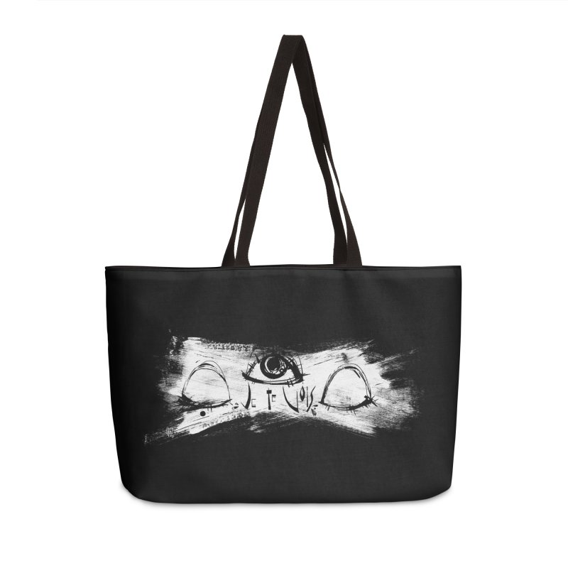 Vois Accessories Weekender Bag Bag by ilustramar's Artist Shop