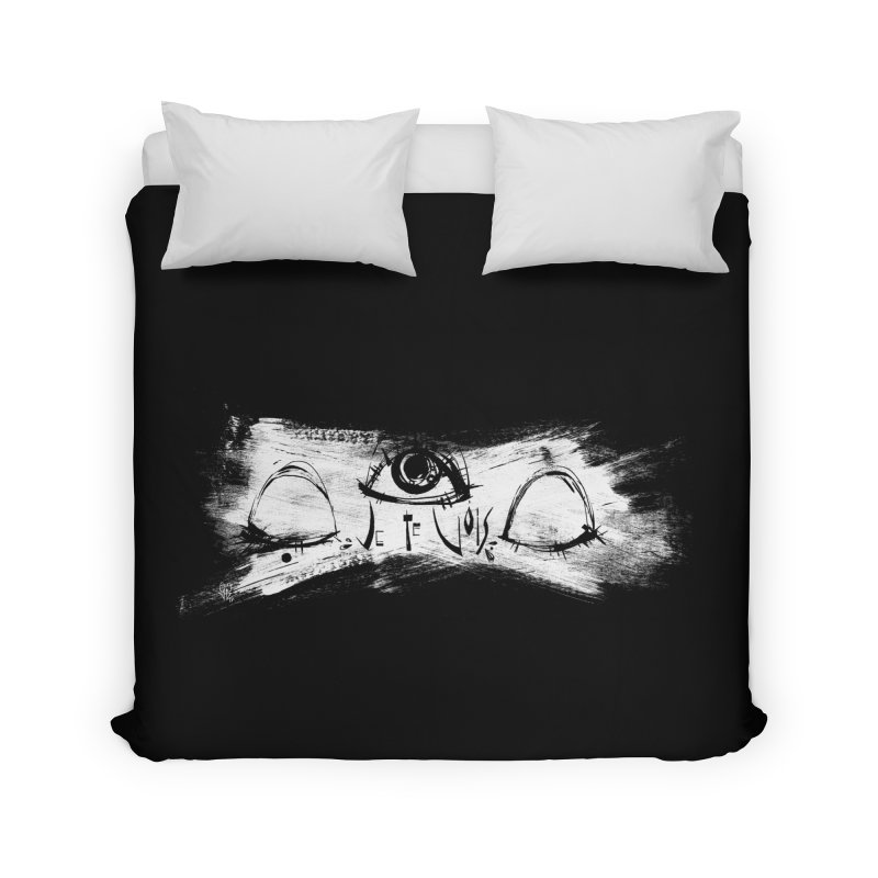 Vois Home Duvet by ilustramar's Artist Shop