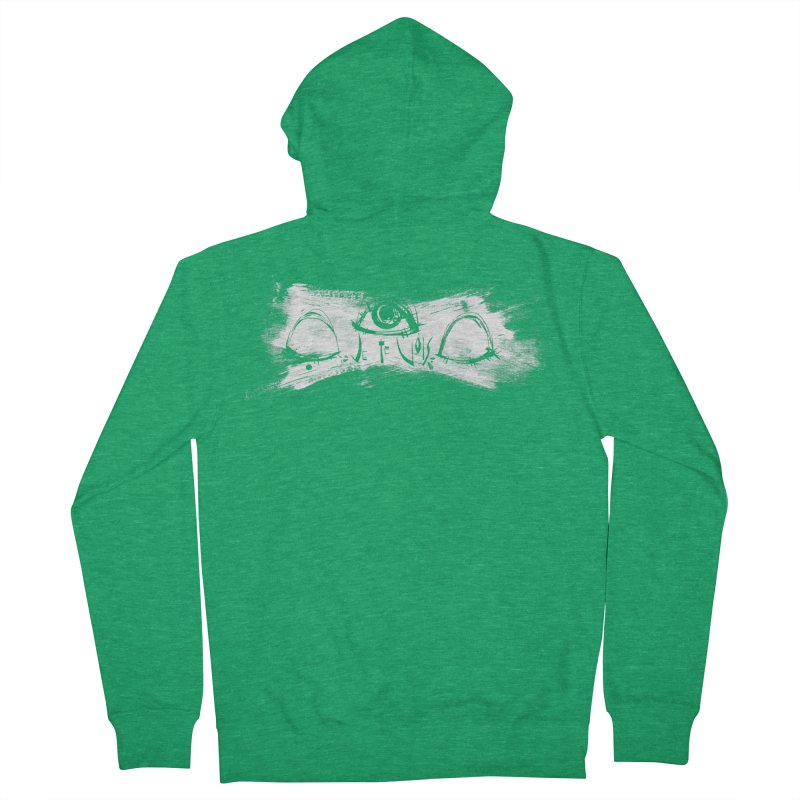 Vois Men's Zip-Up Hoody by ilustramar's Artist Shop